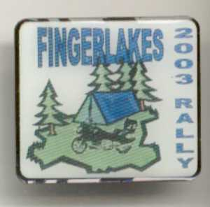 Rally Pin for 2003