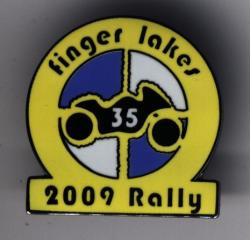 Rally Pin for 2009