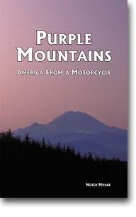 The cover of Purple Mountains