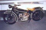 The first BMW motorcycle, Serial No. 1001